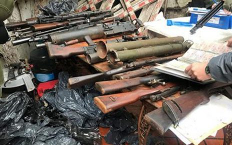 Authorities decide hundreds of weapons and explosives in global weapons trafficking bust